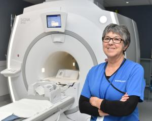 Dunedin Hospital radiographer Jill Oliver is retiring after 47 years' service. Photo: Gregor...
