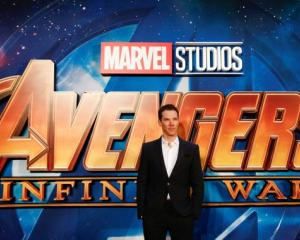 Actor Benedict Cumberbatch attends the Avengers: Infinity War fan event in London. Photo: Reuters