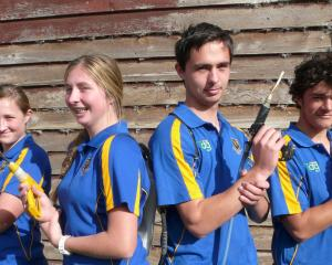 Milton twins James and Laura Scanlan, (centre) will face off against each other in the TeenAg...