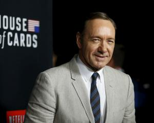 "Cast member Kevin Spacey, who plays the role of Frank Underwood on the television series ""House..."