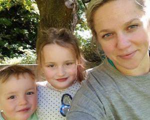 Chanelle O'Sullivan with children Hunter and Izzy. Photo: Supplied