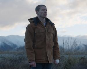 New Zealand actor Kieran Charnock, of Masterton, appears in a scene from Stray. Set in the alpine...