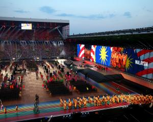 The Opening Ceremony for the Glasgow 2014 Commonwealth Games at Celtic Park. Photo: Getty Images