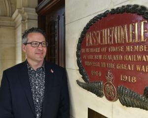 Dunedin Railways chief executive Craig Osborne anticipates tomorrow's special memorial service...