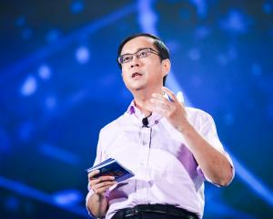 Daniel Zhang of Alibaba. Photo: Getty Images