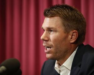 David Warner. Photo Getty