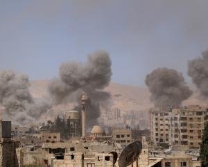 Eastern Ghouta has been bombarded by the Assad regime in recent months. Photo: Getty Images