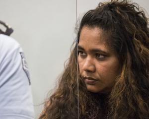 Kasmeer Lata photographed during her sentencing in the High Court at Auckland this week. Photo: NZME