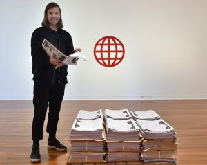 Having his first major solo show in his home town gallery is huge for Dunedin's Matthew Galloway....