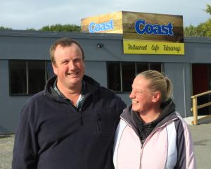 When Wayne and Sarah Bugden reopen The Coast Cafe on Thursday — six months after a car smashed...