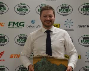 Rural consultant Cam Black will represent the Aorangi region in the Young Farmer of the Year...