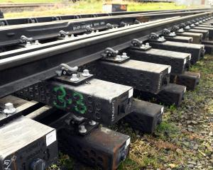 ODT illustrations editor Stephen Jaquiery was bemused to find railway tracks supported by plastic...
