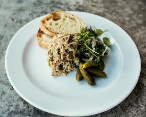 Pork and herb rillette. Photos Emma Willetts