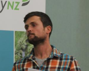 Woodlands contract milker Matt McKenzie talked about his experience with once-a-day milking at a...