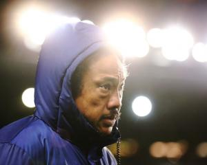 Blues coach Tana Umaga. Photo: Getty Images