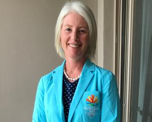 Jackie Hamilton in her Commonwealth Games attire. Photo: Supplied