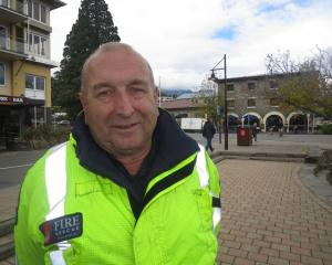 Stu Ide retires after 17 years as Queenstown-based fire safety officer/fire investigator for...