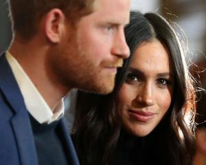 The letter was reportedly addressed to Prince Harry and Meghan Markle. Photo: Reuters