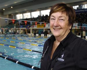 Jan Cameron, photographed at Moana Pool in Dunedin in September, 2006.PHOTO: PETER MCINTOSH