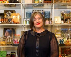 World fashion designer Denise L'Estrange-Corbet. Photo: NZ Herald