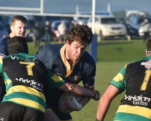 Taieri beat  Zingari-Richmond 50-20 today. Photo: Gregor Richardson