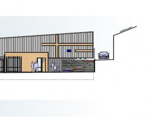 An image by Dwelling Architectural Design lead designer Cameron Grindlay, of the new visual and...