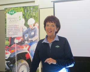 Foundation for Arable Research (Far) new chief executive officer Dr Alison Stewart speaks to a...