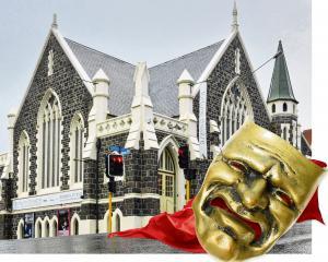 The curtain has fallen on the Fortune Theatre. Photo: Gerard O'Brien