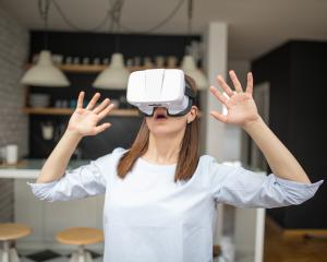 It is hoped that using virtual reality headsets to train students will improve food-handling...