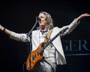 Roger Hodgson performing in Brazil last year. Photo: Getty Images