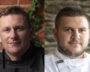 Chefs Greg Piner and James Waite.