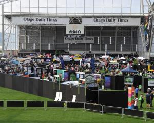 An event at Forsyth Barr Stadium. ODT file photo