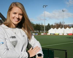 Black Sticks striker Kirsten Pearce is scheduled to play her 100th game for the side, when it...