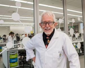 University of Otago Professor of Science Lyall Hanton. Photo: Supplied