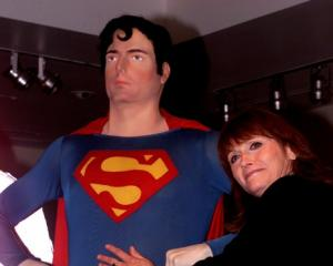 Margot Kidder appears at the Superman movie reunion. Photo: Reuters