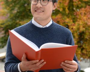 University of Otago PhD student Minhyeok Tak has received high praise for his research into...