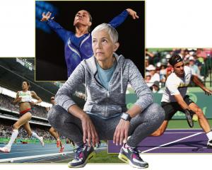 Ageing athletes still at the top of their game include (closkwise from left) 10,000m runner Jo...
