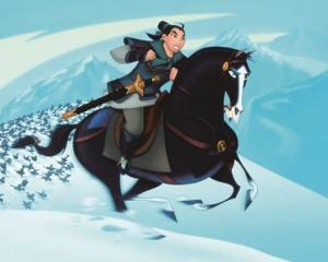 Image of Mulan from the Disney film of the same name. Photo: Twitter