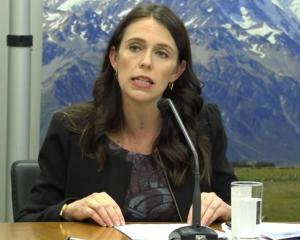 Prime Minister Jacinda Ardern at the Mycoplasma bovis press conference. Photo: NZ Herald