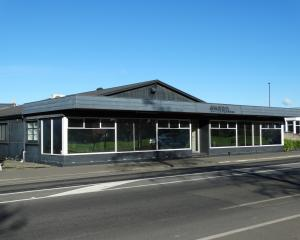 The future home of the North Otago hospice hub in Thames Highway. PHOTO: DANIEL BIRCHFIELD