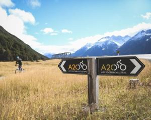Part of the Alps 2 Ocean Cycle Trail. Photo: ODT file