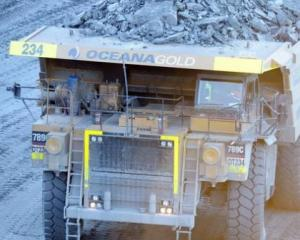 Oceana Gold has been ordered to pay a fine following the death of a worker. Photo: NZ Herald/file...