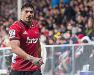 Crusaders loose forward Pete Samu. Photo: Getty Images