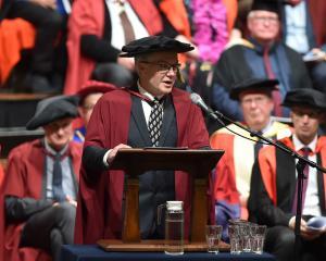 University of Otago microbiologist Prof Greg Cook urges University of Otago graduates to tackle...