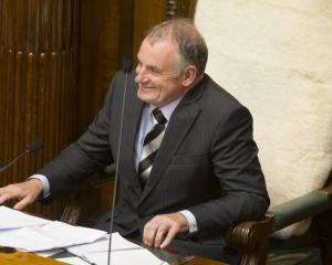 Speaker Trevor Mallard will have the final say. Photo: NZ Herald