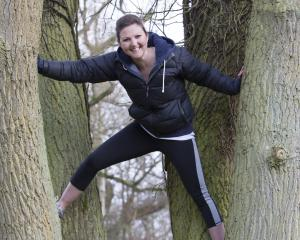 Movement, biomechanics and performance coach Laura Hancock, of Wellington, takes workshops for...