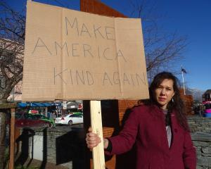 Queenstown's Sonia Voldseth wants to take a stand against US immigration policy. PHOTO: DAISY...