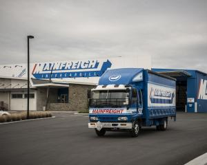 Mainfreight is one of several listed transport companies facing rising costs. Photo: ODT files