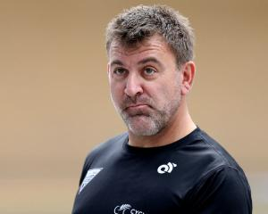 New Zealand sprint coach Anthony Peden. Photo: Getty Images