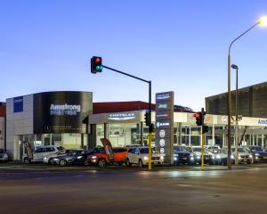 Armstrong Prestige, Andersons Bay Road